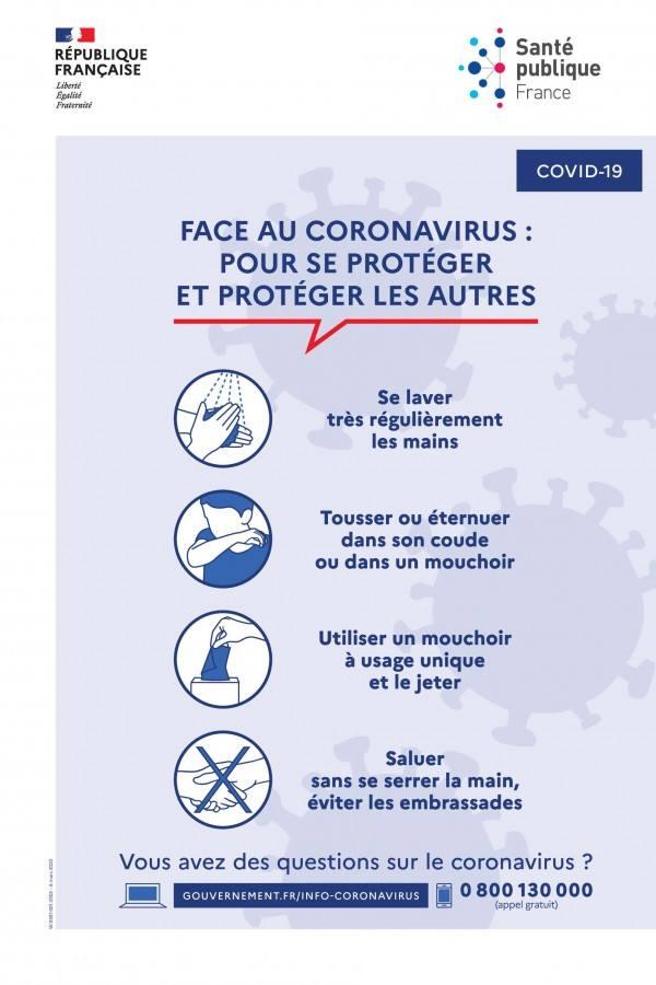 Coronavirus : outils de prévention